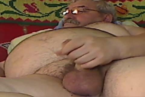 grand-dad stroke On webcam