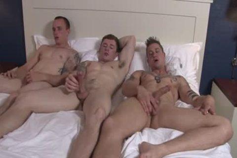 Tattoo homosexual Flip Flop With cumshot