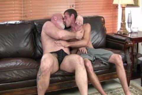 kinky hirsute fat daddy nails Hard His Son