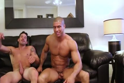 Muscle Son painfully anal sex And spunk flow