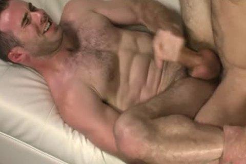 Cauke For Free: Matthew Bosch & Alex Mecum: Muscle stud Sweaty Flip plow