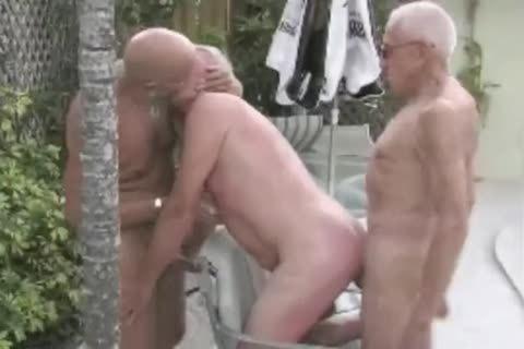 grandad slam 3some