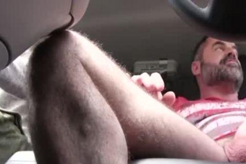 Son Takes massive Daddy's dick In A Family Car - FA