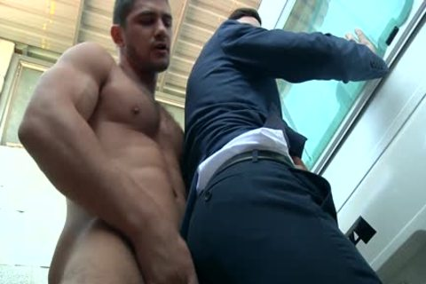 man In Trailer Park gets His pecker Milked Hard And Then pound A Tushy unfathomable