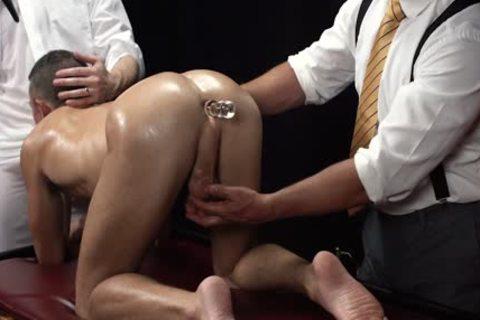 MormonBoyz - Smooth muscular Bottom Used In Secret Sex Cerem