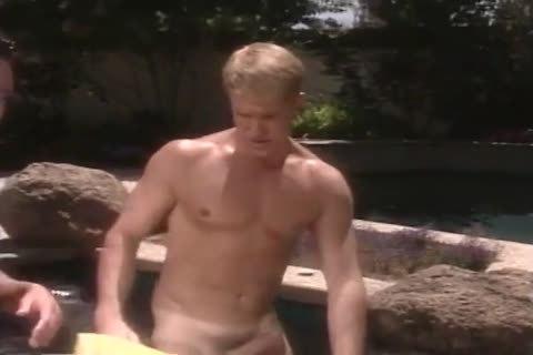 astonishing fake penis Scene With Tom Chase