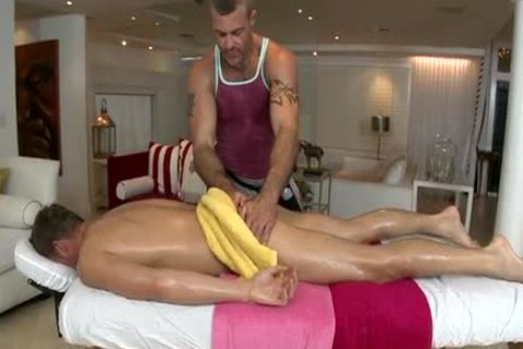 Cure Your Monday Blues w/ a juicy gay Massage
