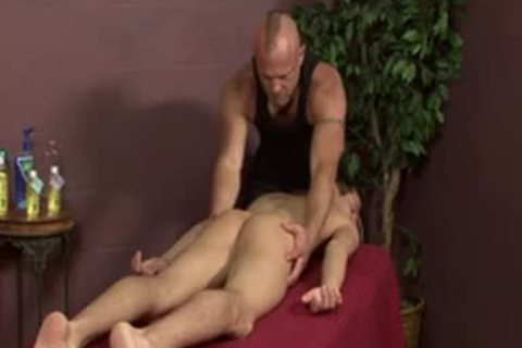 homosexual Massage engulfing