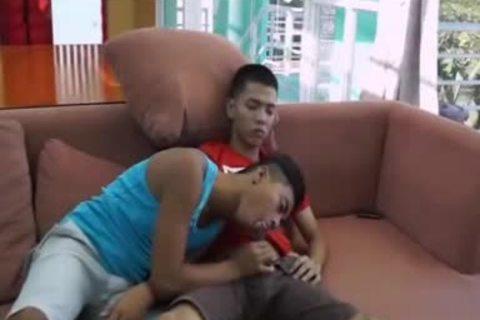 Pinoy huge cock Arjo And Josh,, enjoy Pinoy M2M plow, suck, And a-hole butthole fucking  more cum To Go