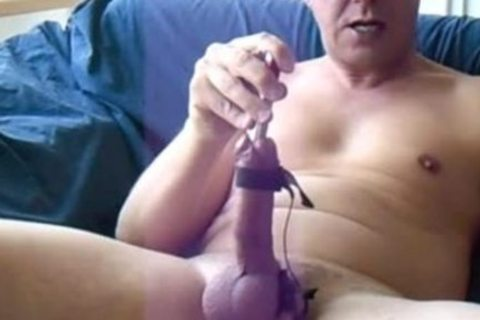 My Cockhead Spewing Out The sperm After tasty Edging With Estim And Sounding. Full Edition. Full Length Edition