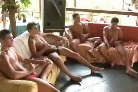 Brazilian gang fuck