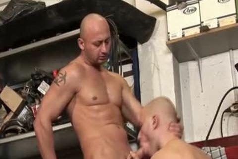 Masturbating chap Creams