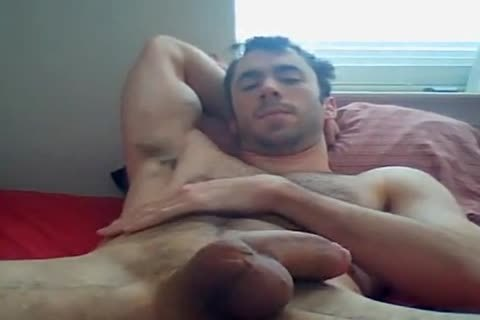 lusty Fit chap stroking And Chatting