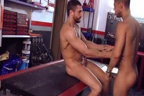 Emiliano pokes Carlos Macho-style. DSR15