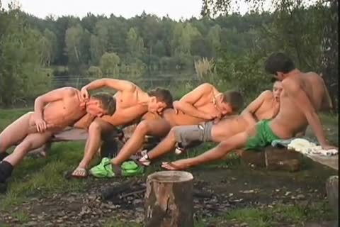 5 lascivious sexy twink's Have Outdoor pleasure