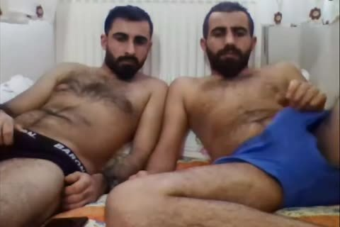 straight Turkish friends On web camera
