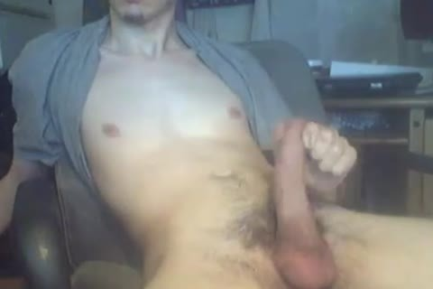 Gonzan20 Jerks His large dick In Front Of web camera