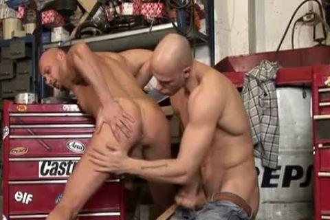Bald studs raw wazoo came