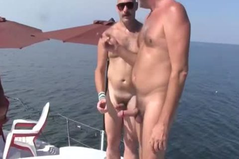 daddy man Has A raunchy Experience With A Younger man On A Boat