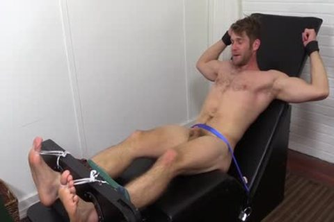 Colby Keller With A consummate Body receives A Foot And Toe Tickle