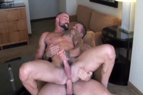 Sean loves Daddy Rocco's cock