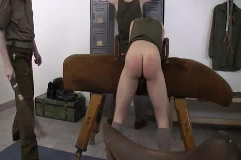 Army Briefs Down Spank