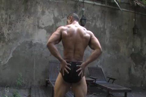 Muscle Hunks - Pepe Mendoza Aka Gabriel Duran - Bedroom Solo