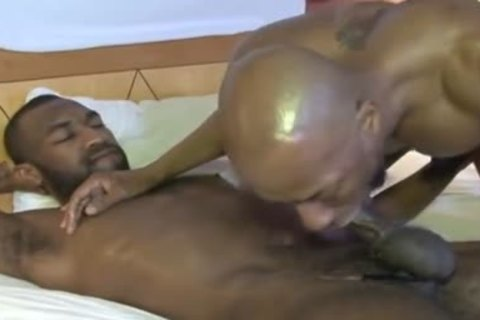 African Breeding males deep booty stab
