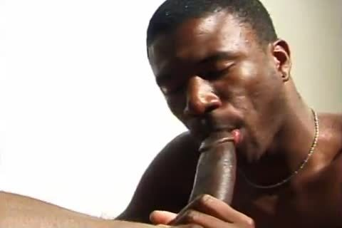 Impeccable African Buns Filled With big Charcoal cock