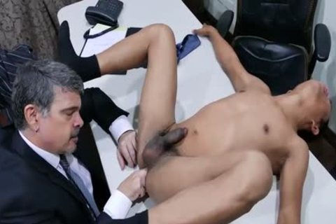delightsome Daddy Chinese Fornicating And engulfing