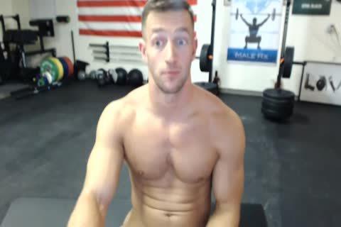 Athlete Cums On Camera
