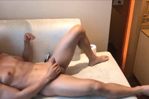 pumped up College weenie With Muscle And lusty cock