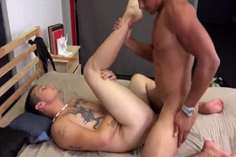Broke Straight guys Devon Felix fucks Jaxon Ryder raw (bareback)