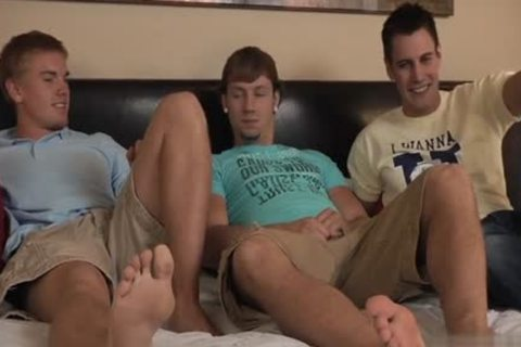 juicy homosexual double penetration And cream flow