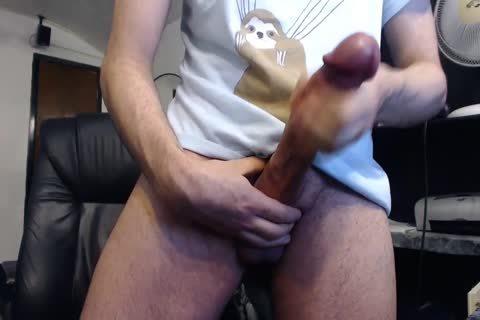 Monster weenie Cums On web camera (it's biggest)