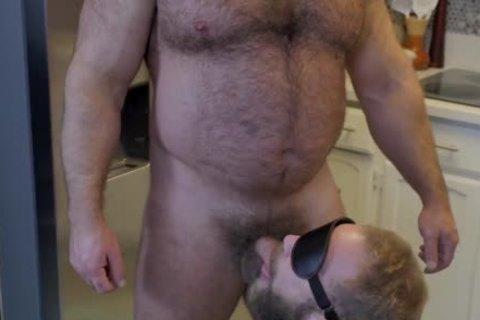 hairy Bear & Pig's raw Fuckin'