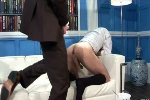 Butler slamming His Boss