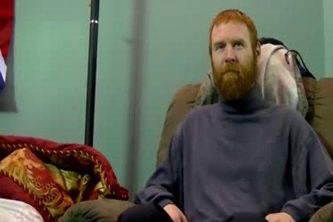 Ruff Neck Ginger Pumps A Load Down Joe's throat