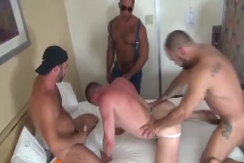 gangbang The man