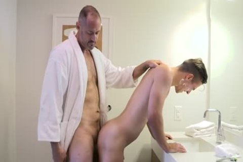 [Family penis] Stepdad Boyfriend, Chapter Two - A Closer Shave (Stepdad George