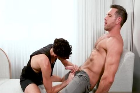 monstrous 10-Pounder homo a bit of butt With cock juice flow