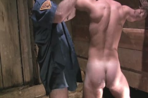 Two pretty Policemen Fist plow And Sodomise