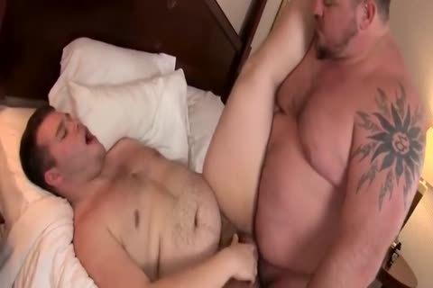 chubby bulky humongous penis bare Junior Uncle Bear overweight
