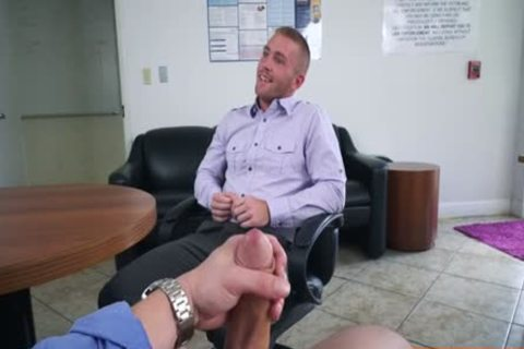 Muscle gay oral-job With Facial