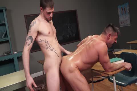 Justin Brody - Bruce Beckham - Muscle Teacher Bottom