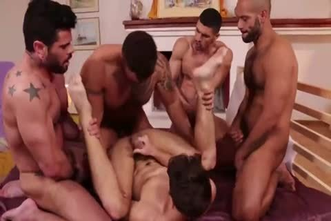 Devin Franco`s bare gang slam