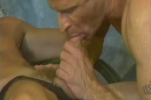 Mike gets drilled With A dildo