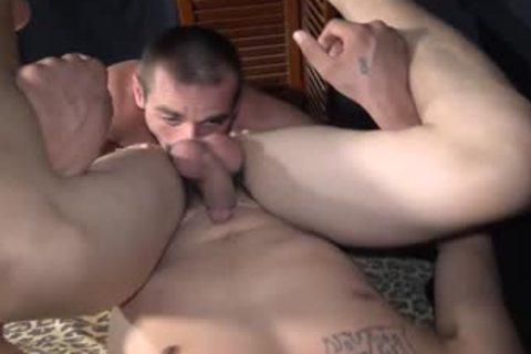 Straight rough Trash Rednecks men banging