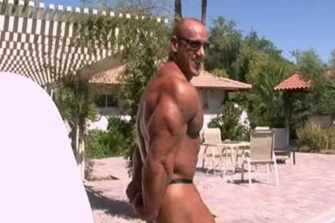 Robert Burneika Poolside Posing