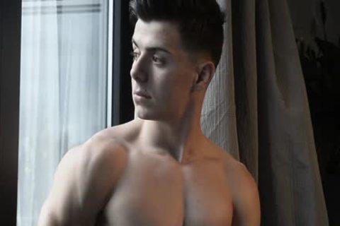 Alex - delicious Latino naked Model